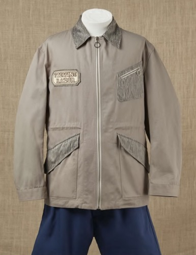ZIP THROUGH FIELD JACKET_KHAKI