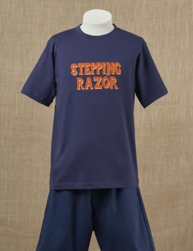 STEPPING RAZOR T-SHIRT_NAVY