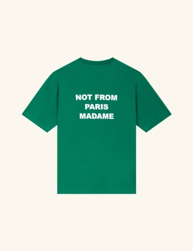 RIBBED NFPM T-SHIRT_GREEN