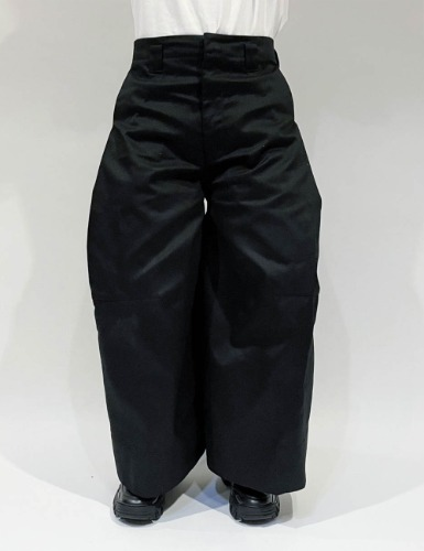PANTALON WITH DICKIES_BLACK