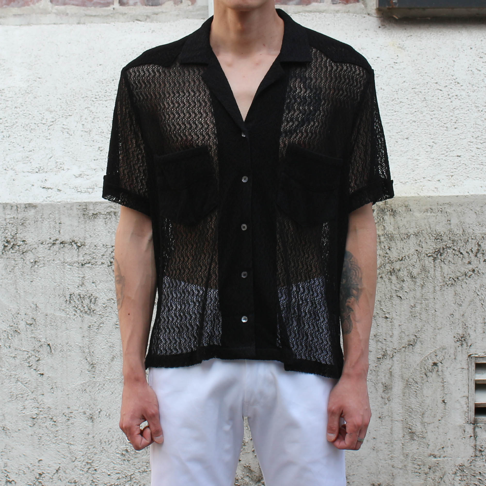 LIMITED S/S SHIRTS_BLACK