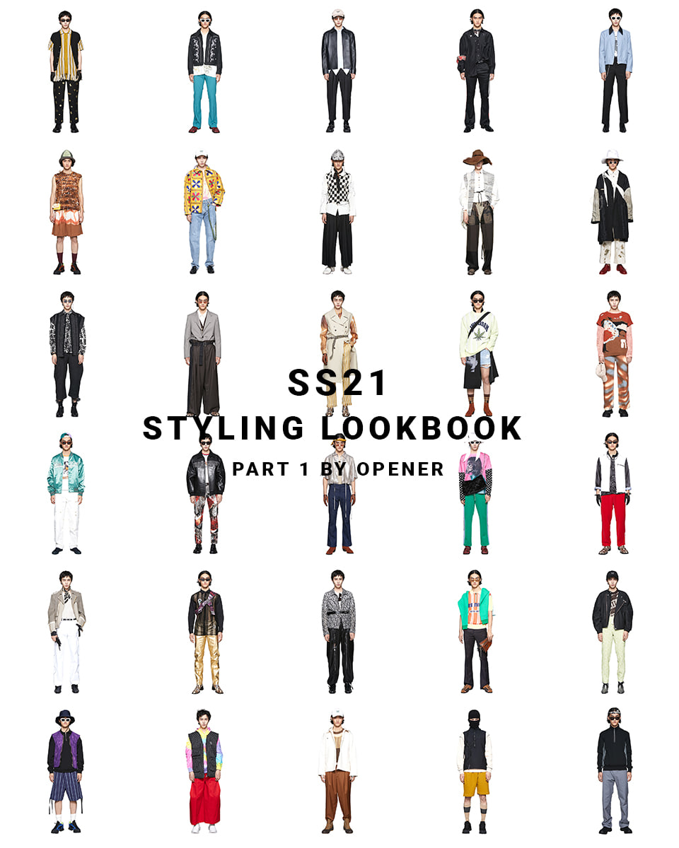 OPENER SS21 STYLING LOOKBOOK_PART 1