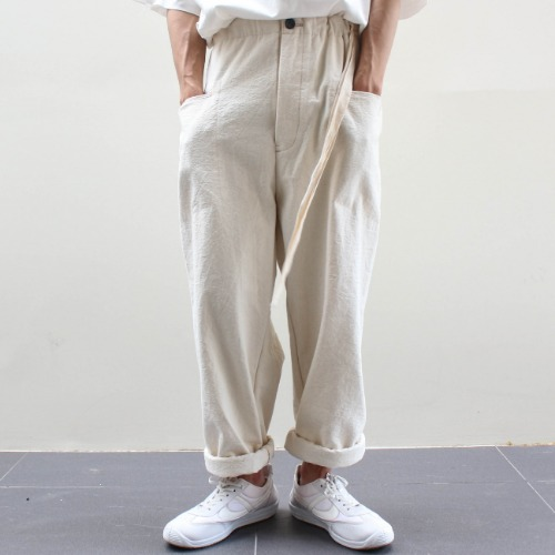 CANVAS PANTS_OFF WHITE