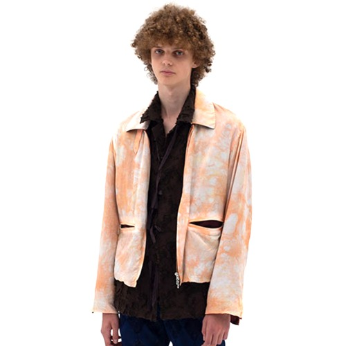 TIE DYE BLOUSON_ORANGE