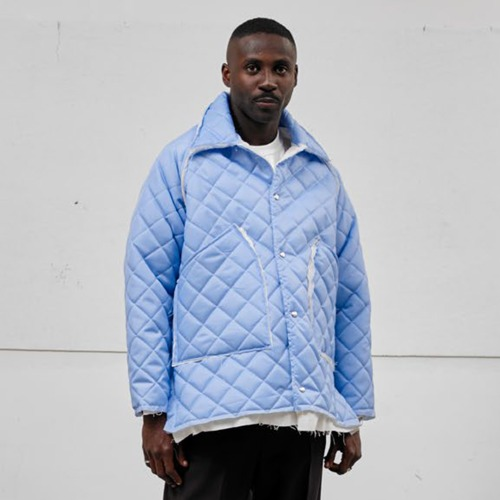 PADDED JACKET_LIGHT BLUE