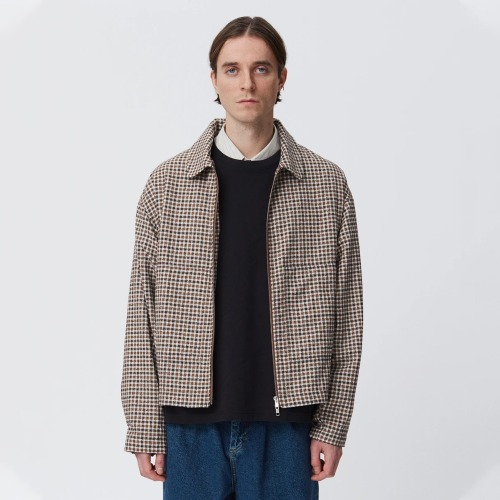 CASE BLOUSON_BROWN