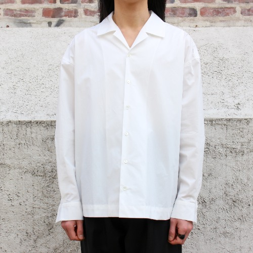 OVER SHIRTS_WHITE