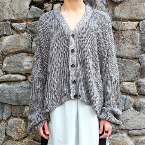 WIDE FIT KNITTED BENGALA CARDIGAN_OLD