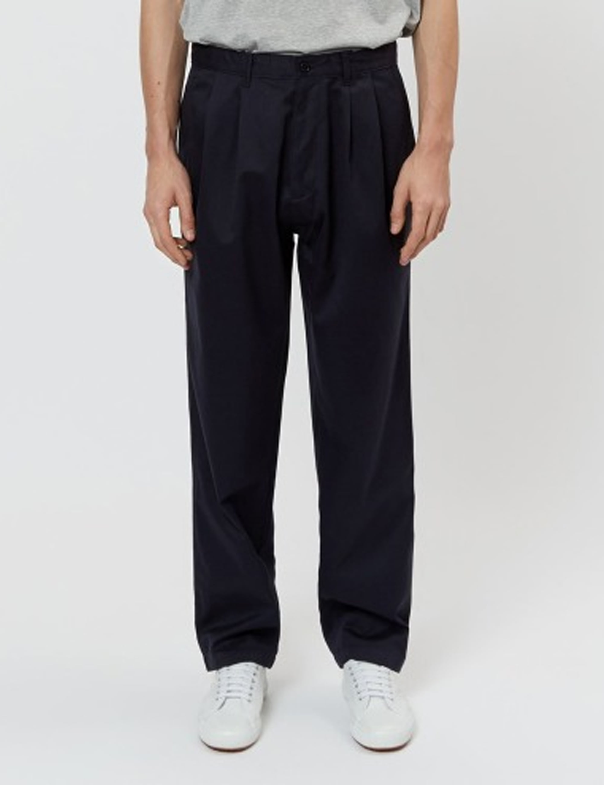 CORE PLEATED CHINO_NAVY