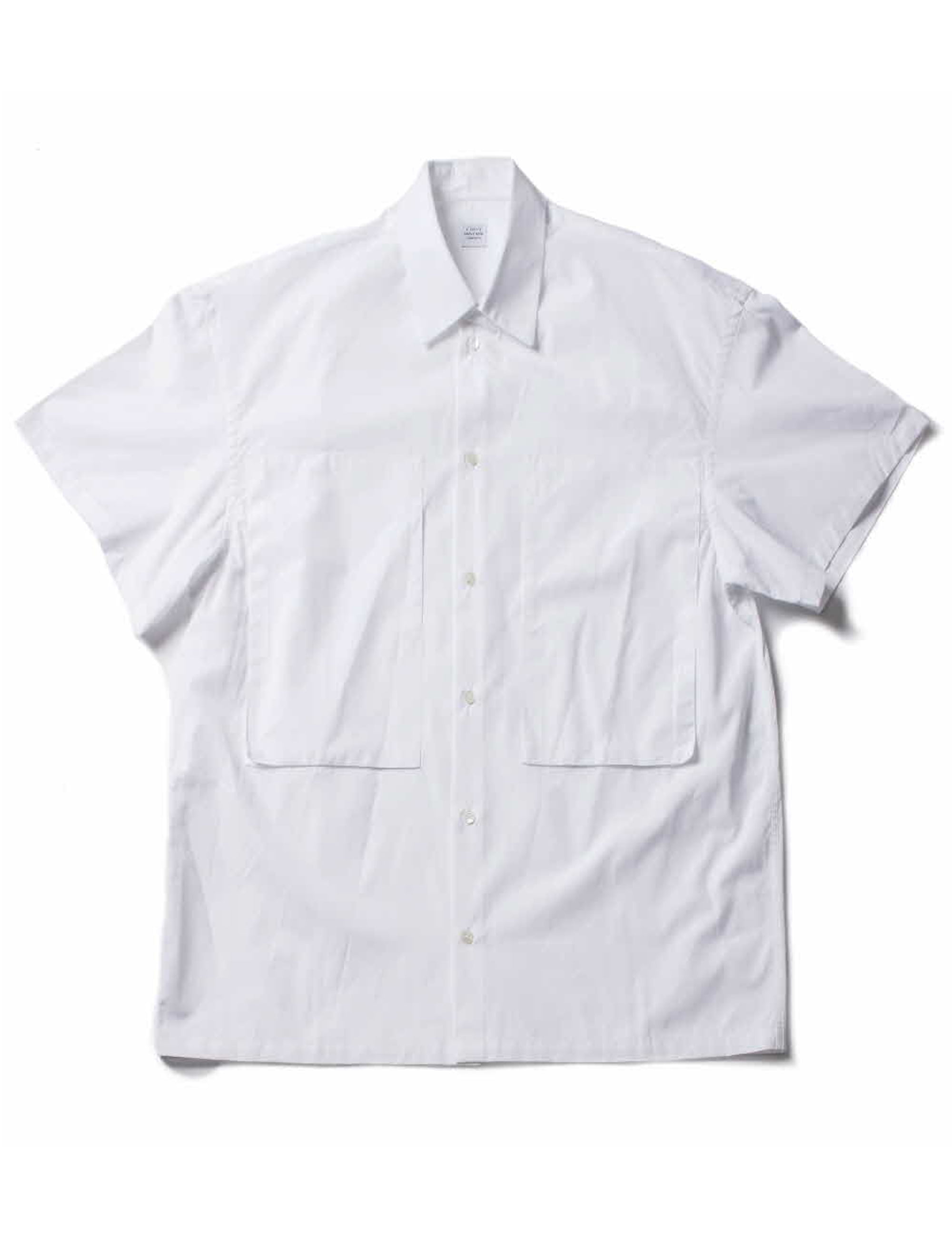 SHORT SLEEVE LINEMAN SHIRT_WHITE