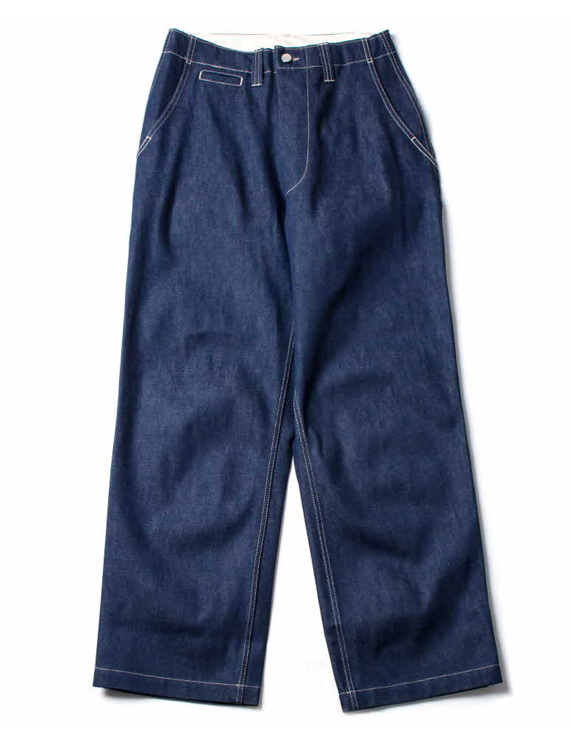 CORE FIELD TROUSER_NATURAL INDIGO