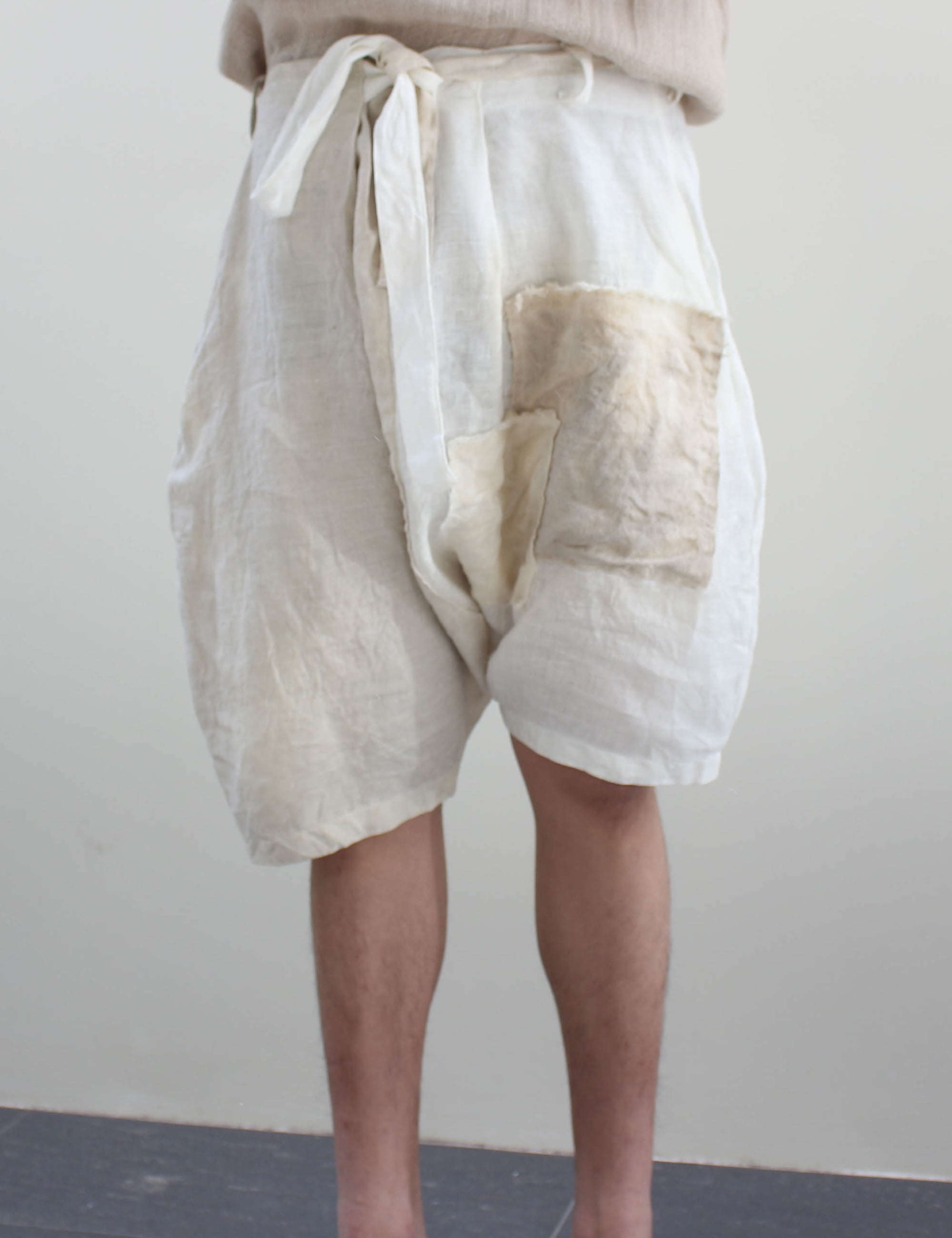 OLD LINEN WASHED SHORTS