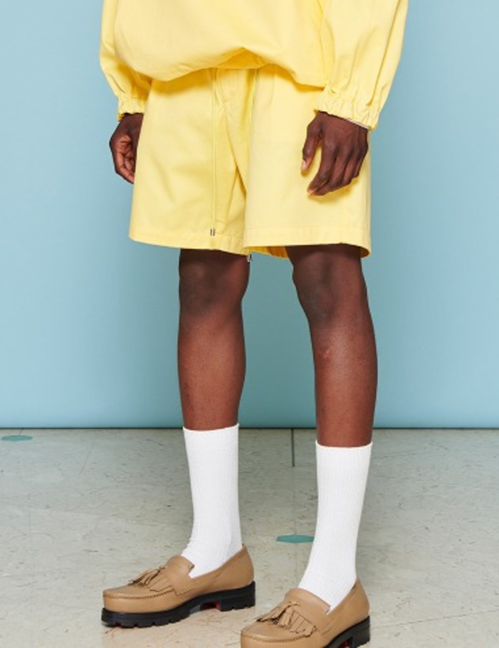 NAVAL SHORTS_YELLOW