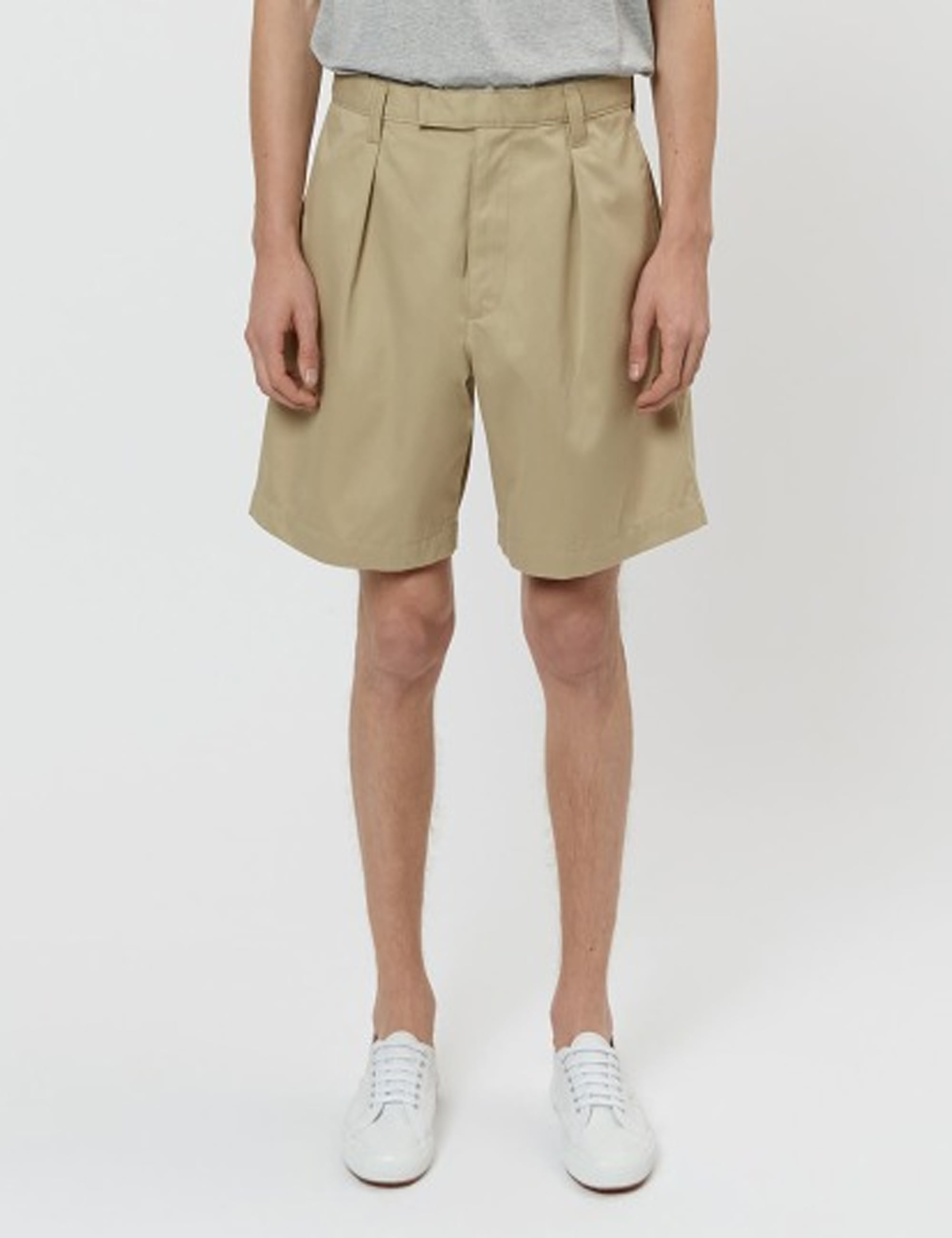 CORE NAVAL SHORTS_KHAKI