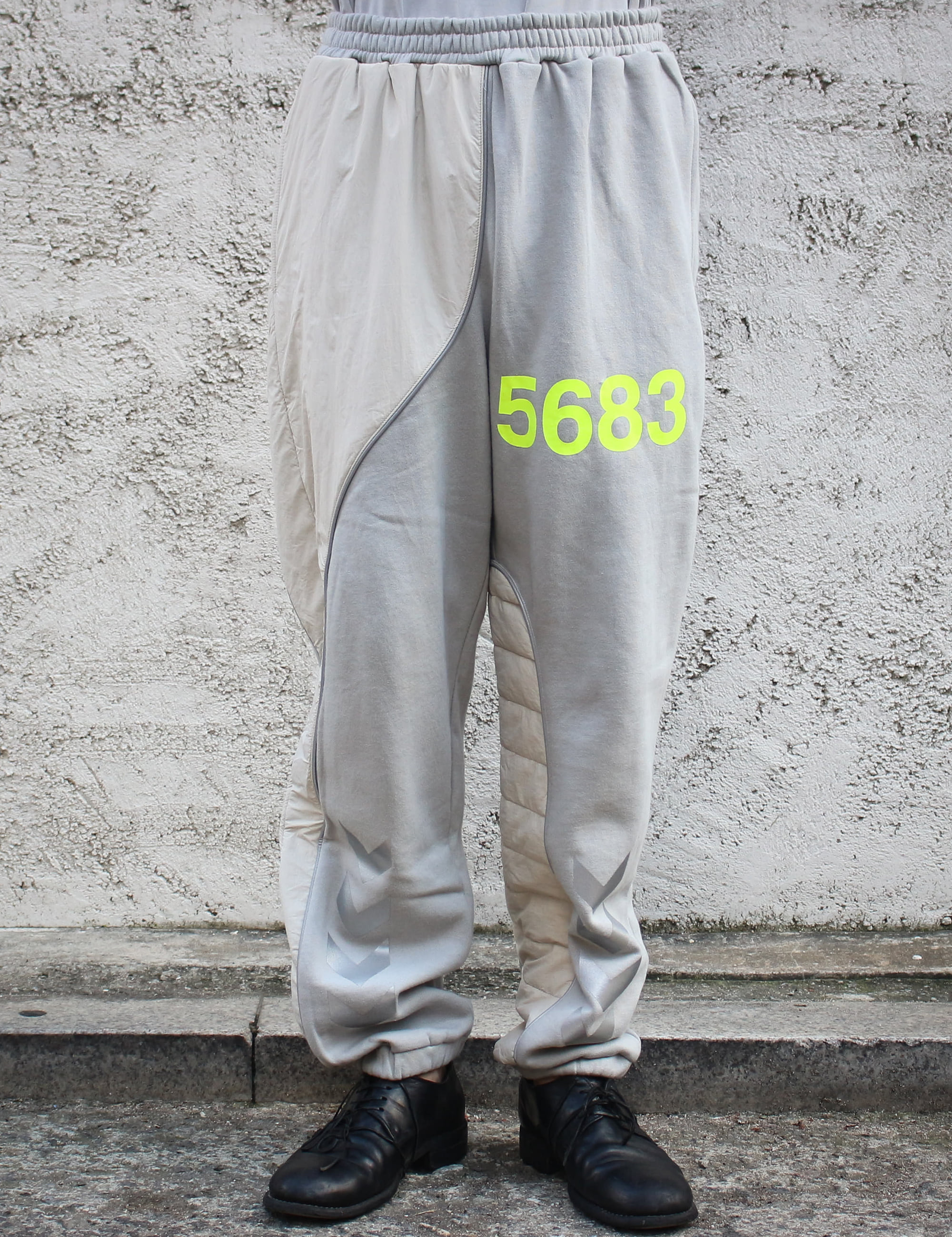 WILLY X HUMMEL SWEAT PANTS_HARBOR MIST