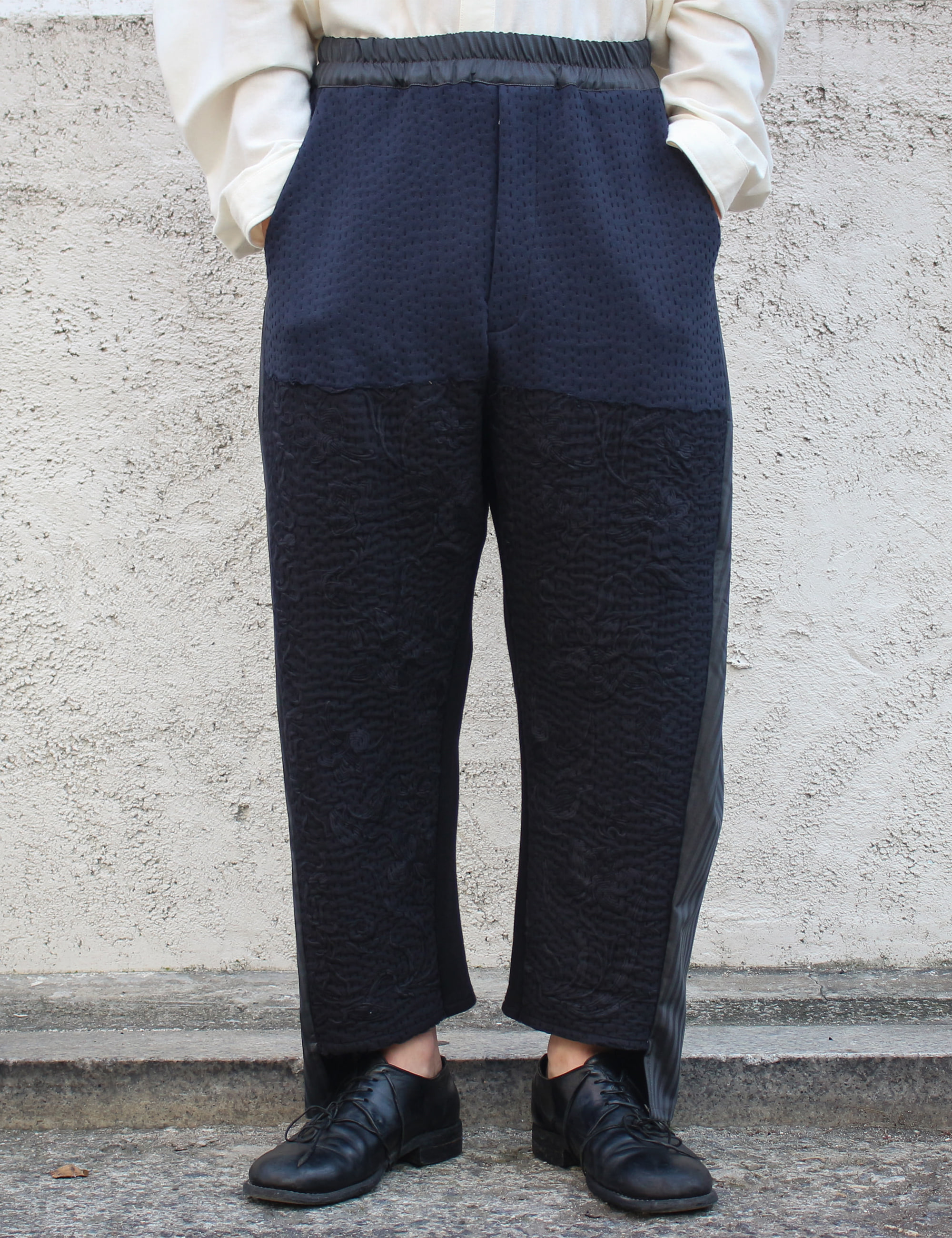 BURT TROUSER_NAVY/BLACK