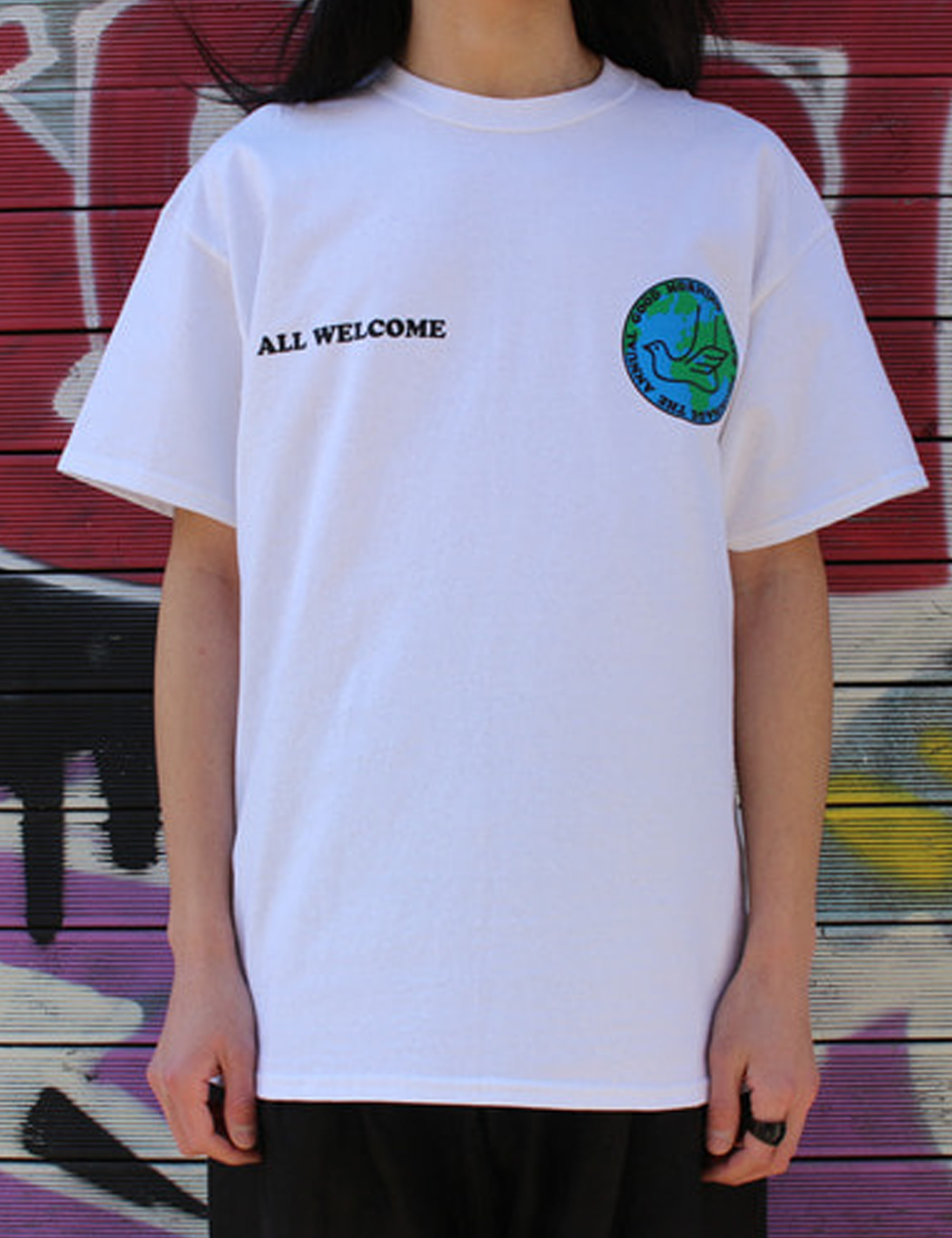 PEACE PILGRIMAGE SS TEE_WHITE
