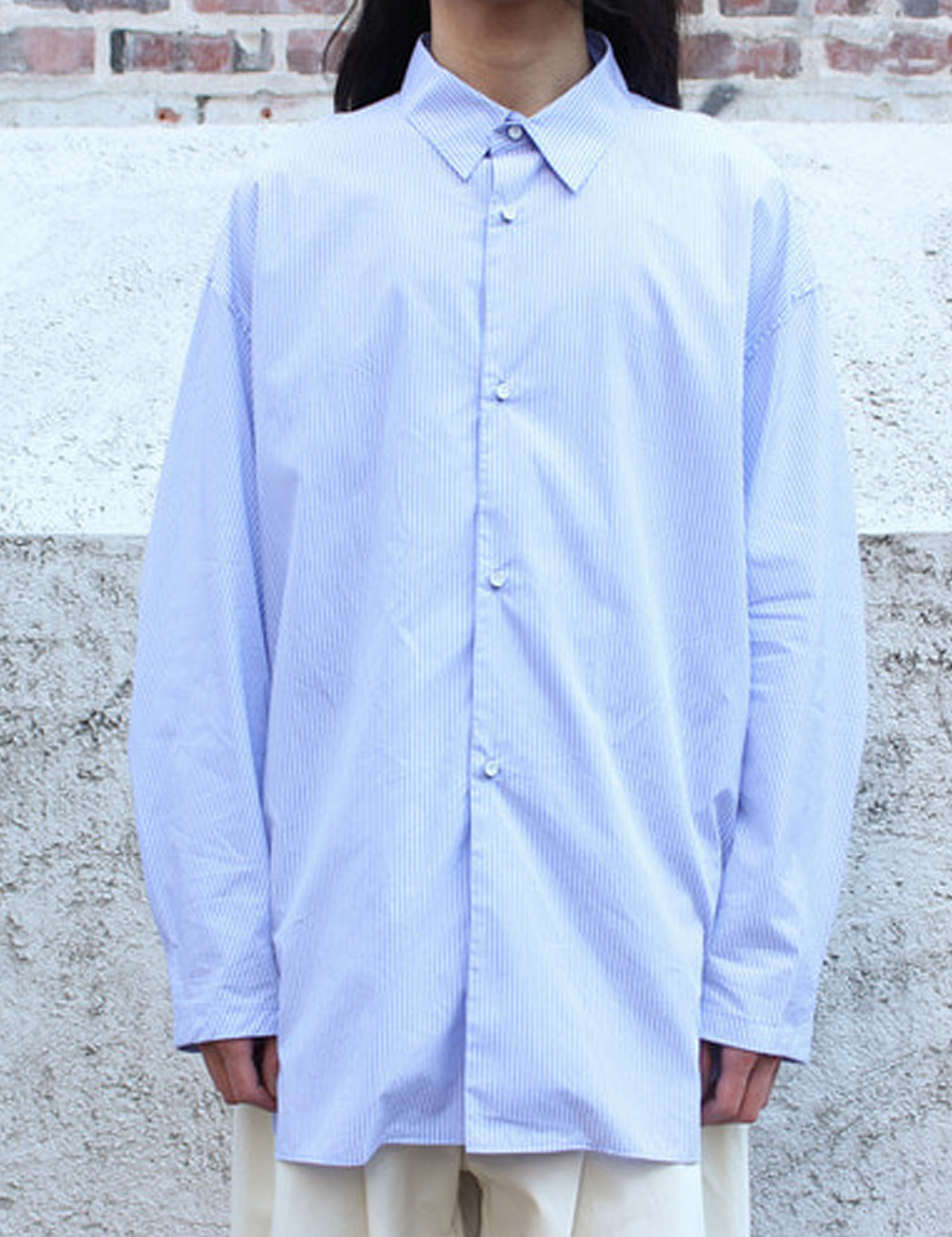 CLASSIC SHIRT_THICK STRIPE