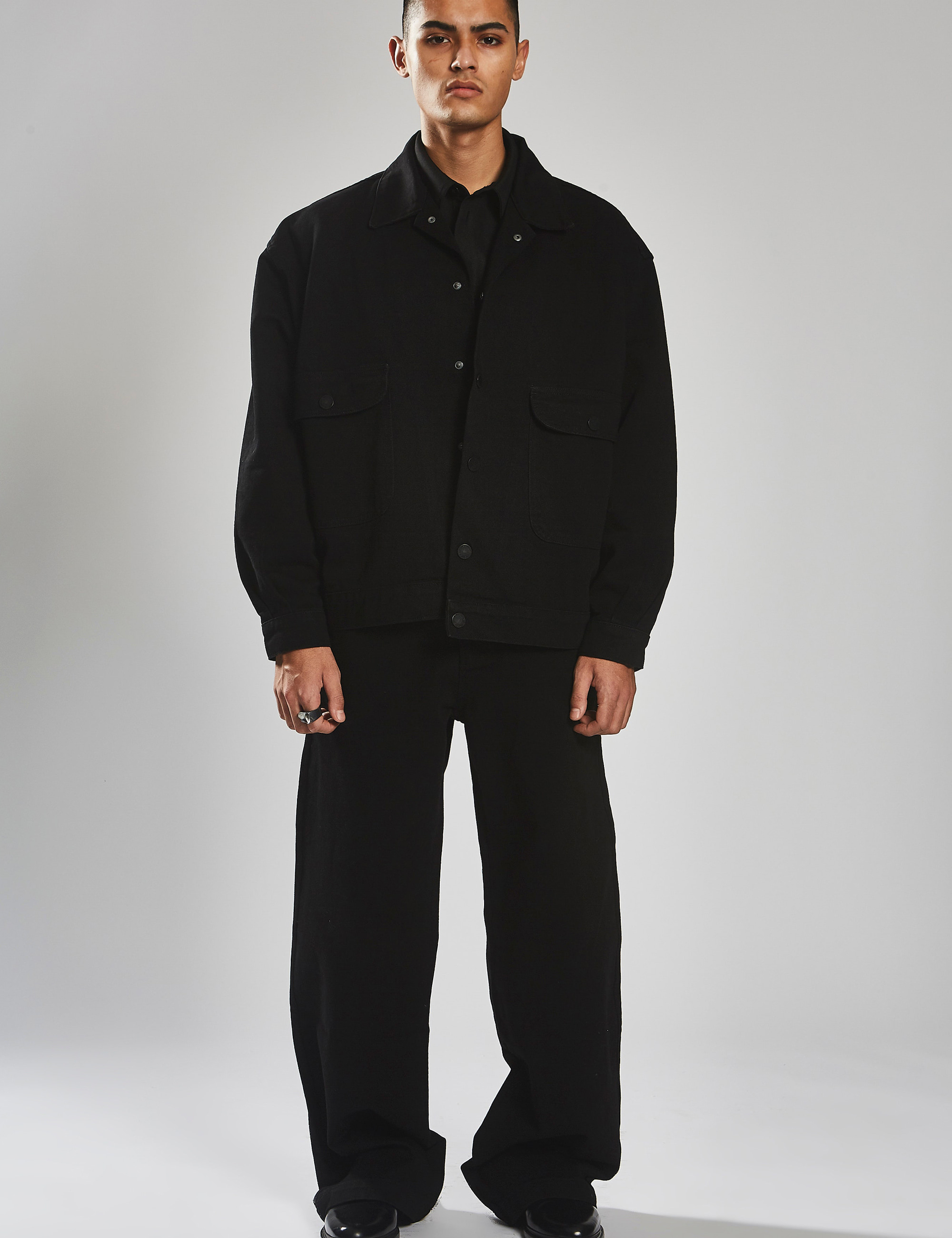 HOLLYWOOD WORK SHIRT_BLACK