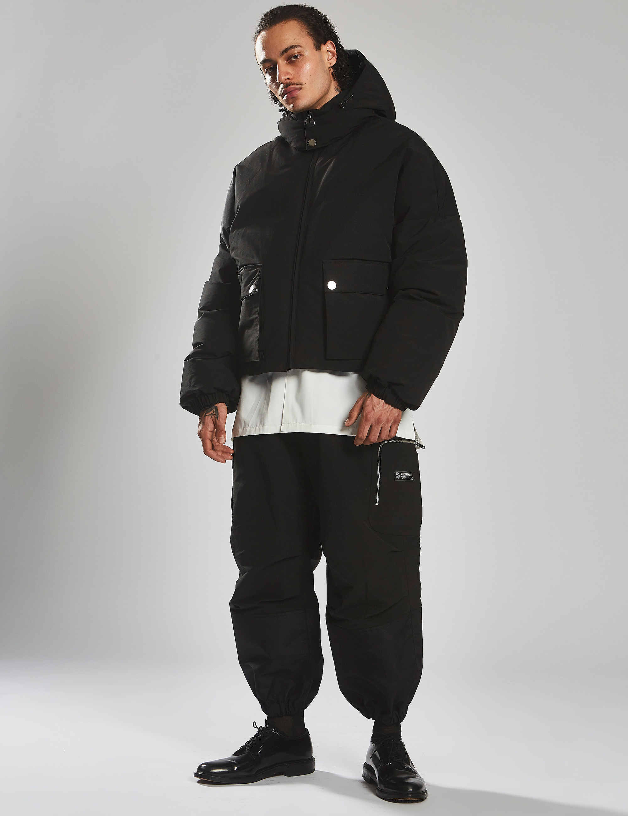 WINDBREAKER PANT_BLACK