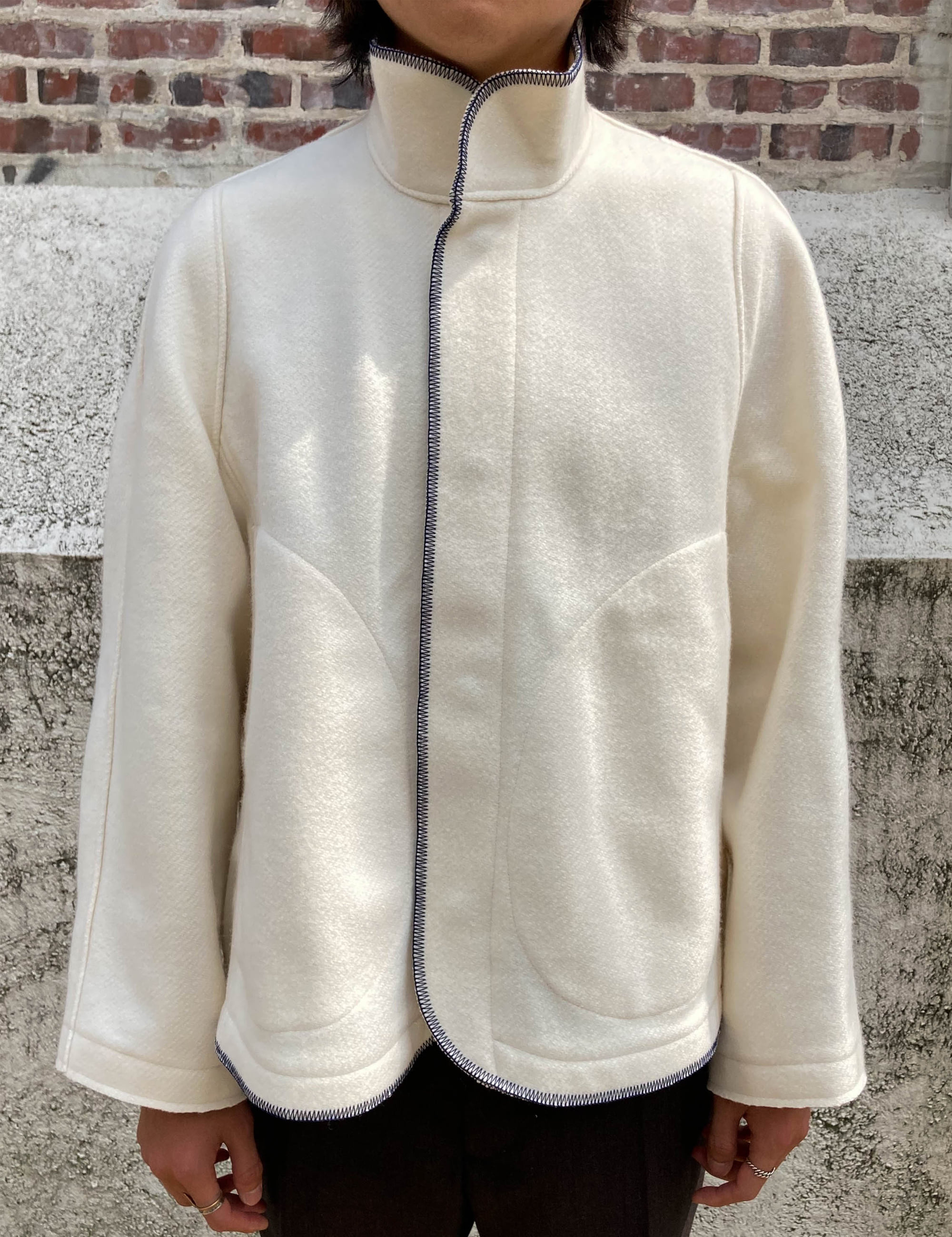 BLANKET JACKET V2_CREAM
