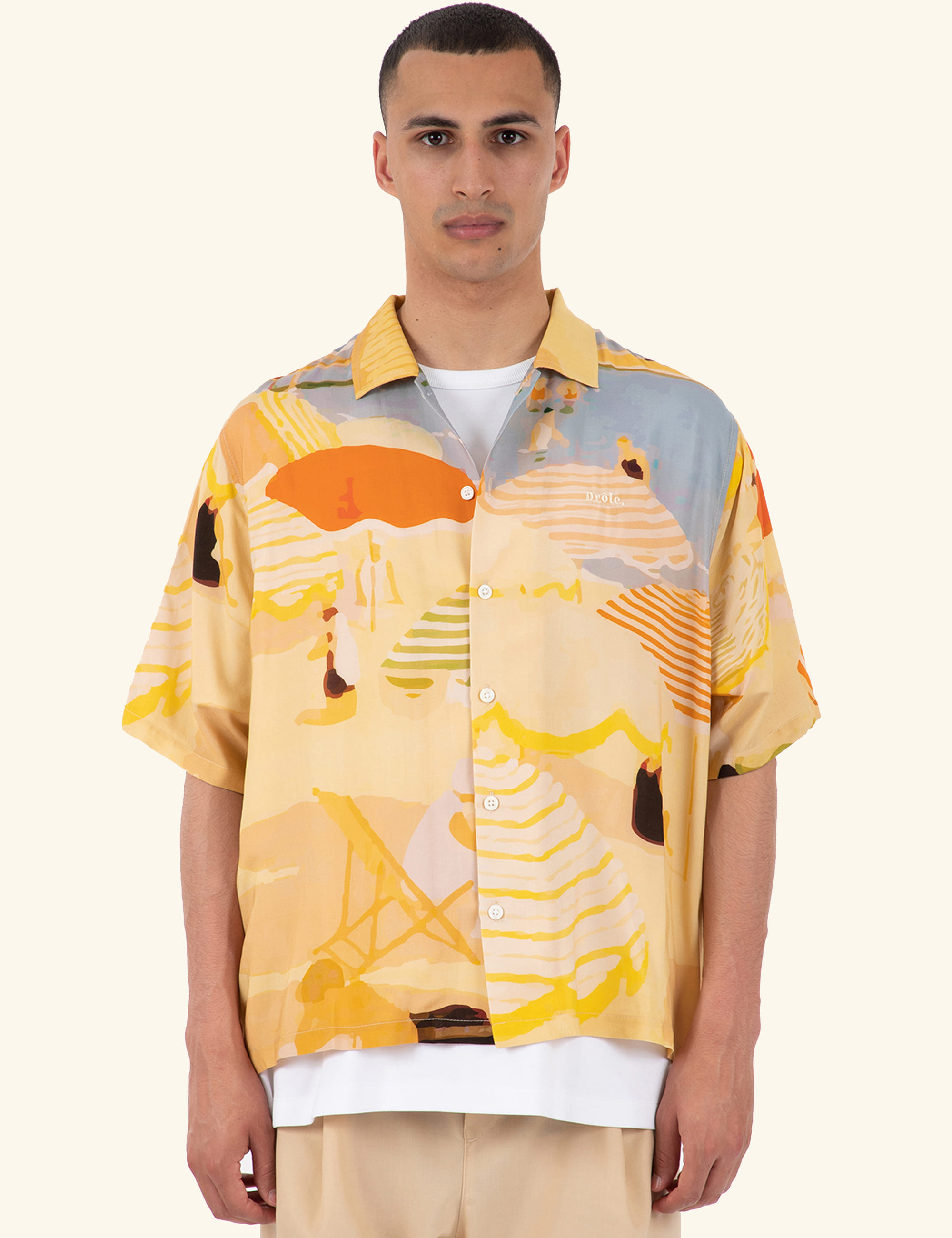 BEACH RIVIERA SHIRT_BEIGE