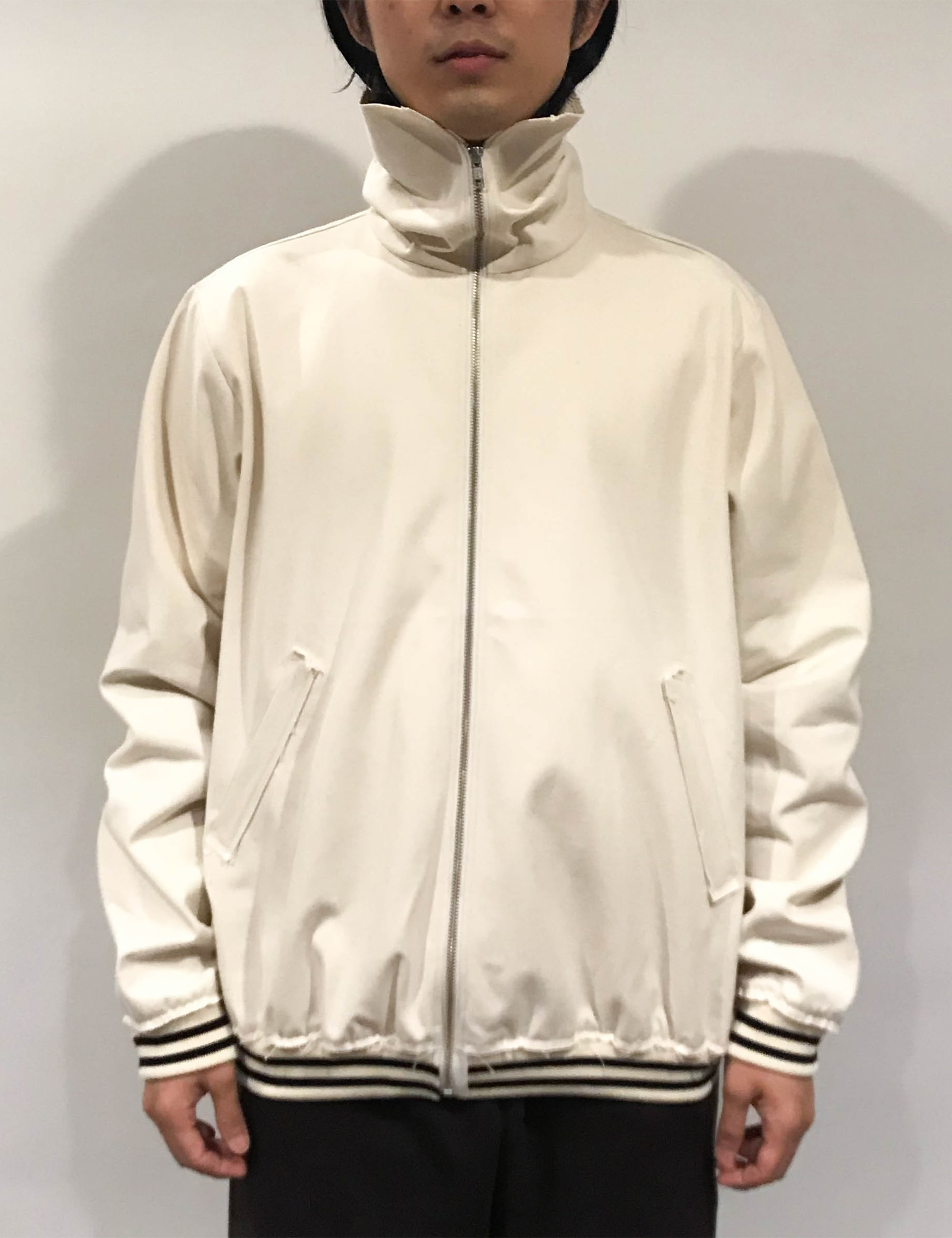 RESEARCH SHIPPER MANS JACKET CANVAS OFF-WHITE