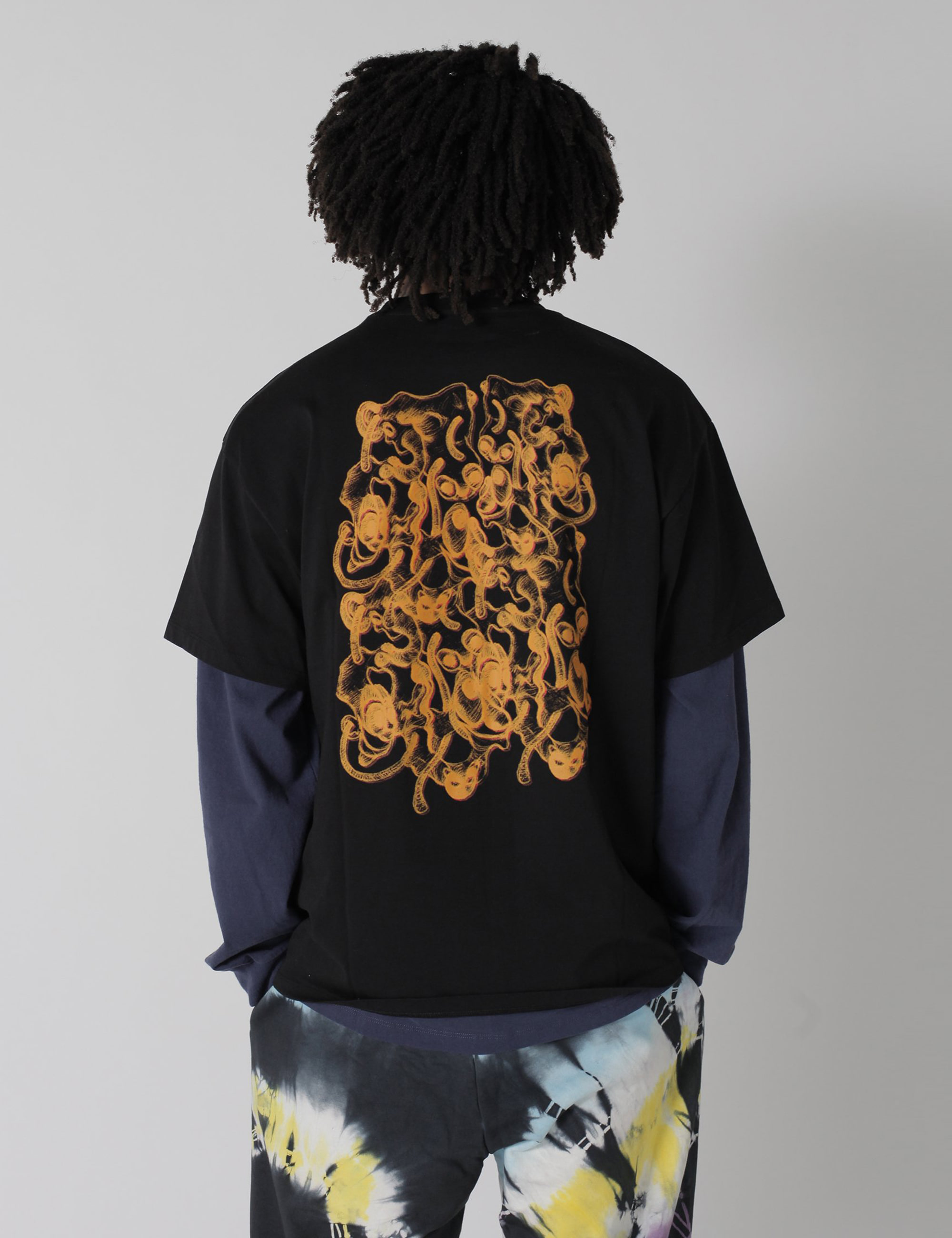 NOODLES SS TEE_BLACK