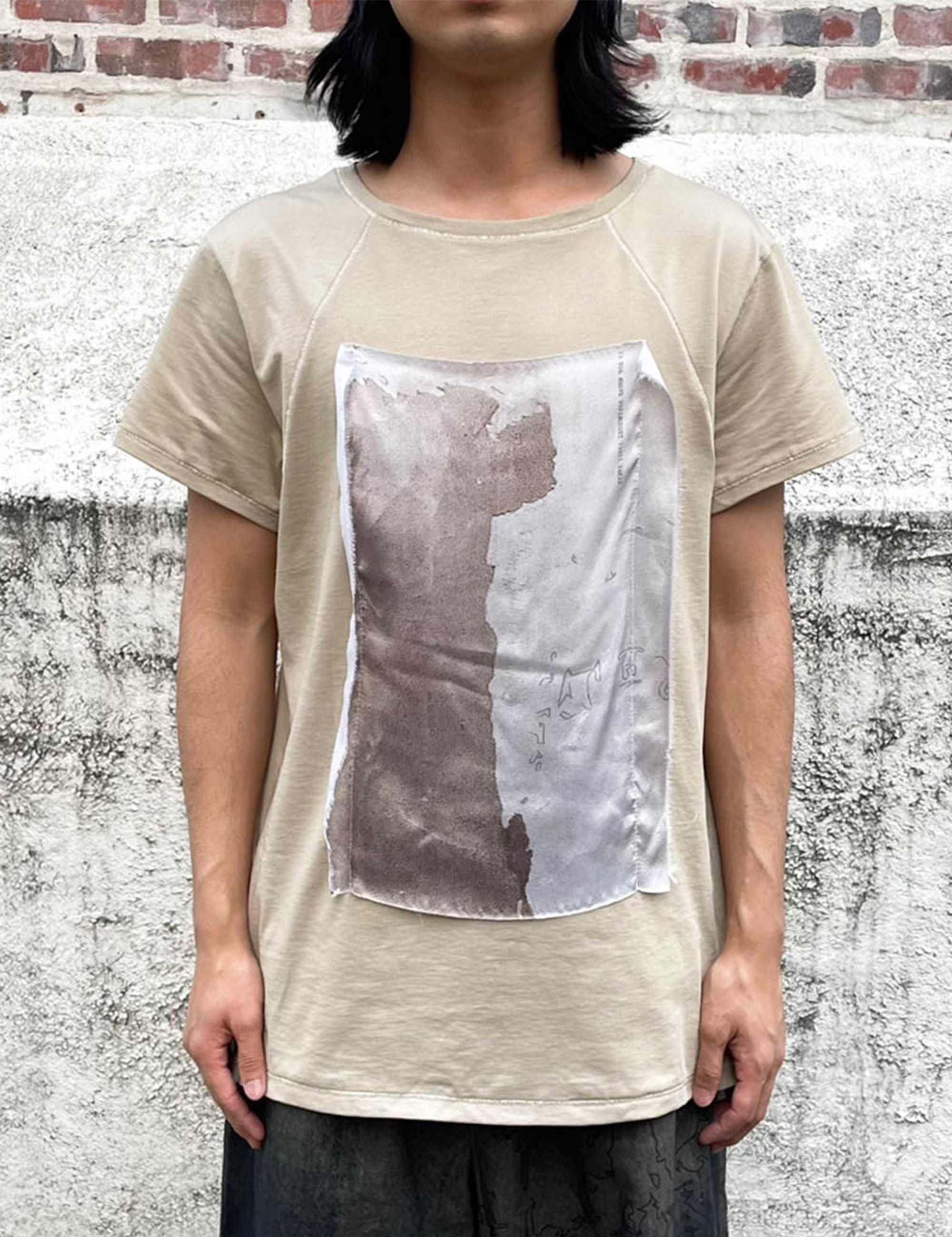 COTTON SILK T