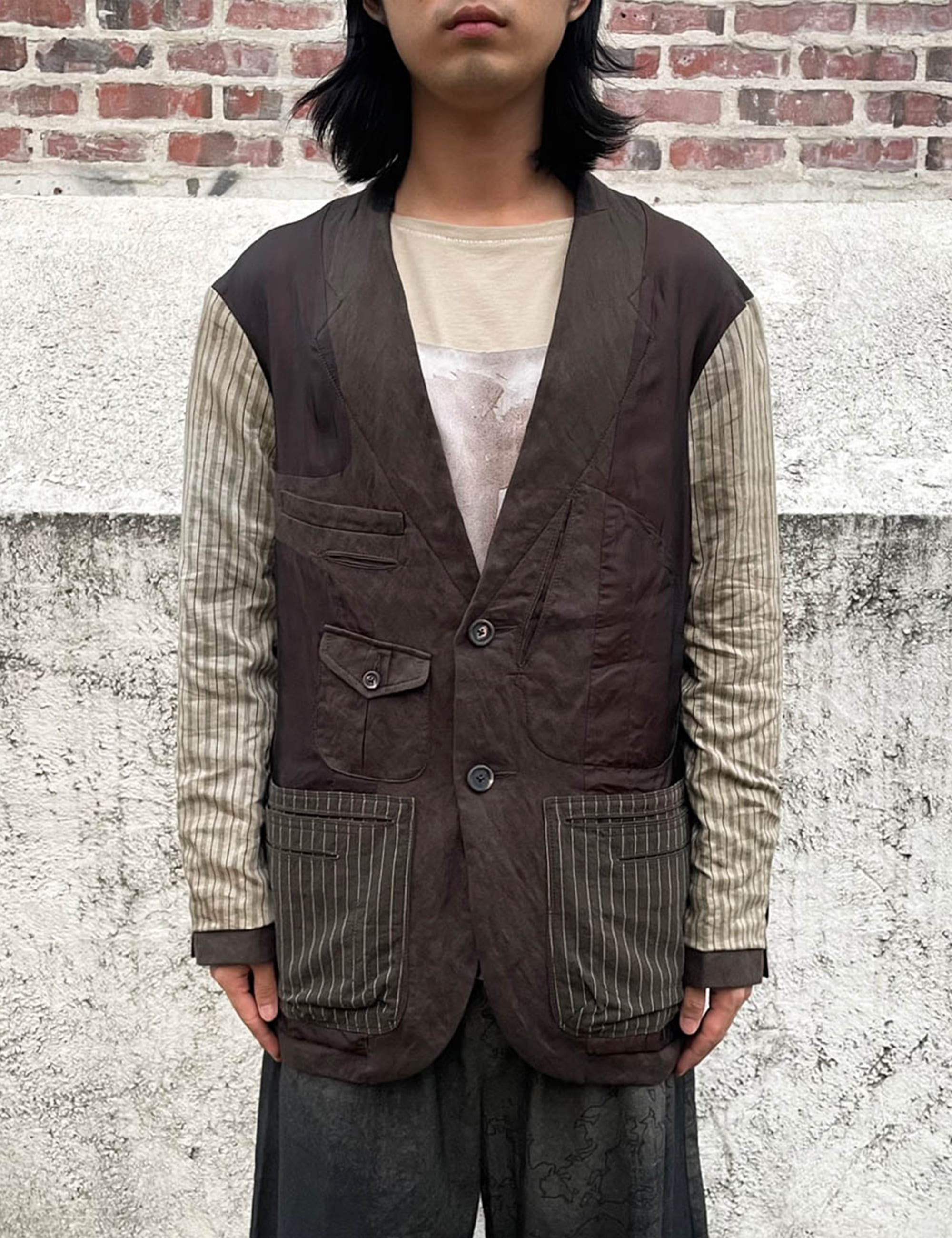 LOOSE-FIT REVERSIBLE BLAZER