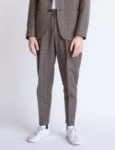 SAEVIO TROUSERS_CHECK
